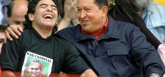 MARADONA | Los principaes líderes regionales saludan a Diego Maradona.