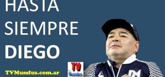 EDITORIAL – GLORIA | Se fué DIEGO ARMANDO MARADONA, lo más grande que nos dio el fútbol.