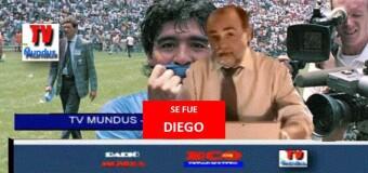 TV MUNDUS – Noticias 324  |  Se fue DIEGO MARADONA