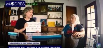PRESOS POLÍTICOS – Lawfare | Las Madres de Plaza de Mayo dieron su apoyo a Amado Boudou.