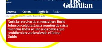CORONAVIRUS – Mundo | Alarma mundial por una cepa que sale de Gran Bretaña. Europa en alerta total.