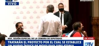 TV en VIVO |   La Cámara de Diputados trata la sanción definitiva de la reforma jubilatoria.