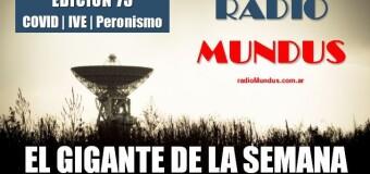 RADIO MUNDUS – El Gigante de la Semana 73 |  En diciembre llega la vacuna rusa Sputnik V