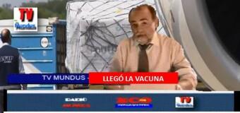 TV MUNDUS – Noticias 327 |  Llegó la nave de Aerolíneas Argentinas con las primeras 300 mil vacunas de Sputnik V