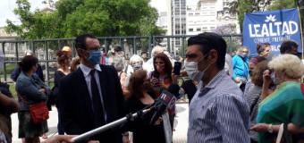 LAWFARE – Persecución Política | Abrazo a Tribunales en defensa de Amado Boudou.