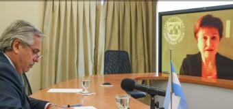 MUNDO – Economía   Fernández se entrevistó con Kristeva, Presidenta del FMI.