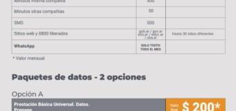 ECONOMÍA – Argentina | Entró en vigencia el plan de Prestación Básica en Telecomunicaciones.