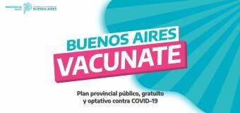CORONAVIRUS – Argentina | La Provincia de Buenos Aires invita a anotarse para ser vacunado. Ya lo hicieron más de un millón de bonaerenses.