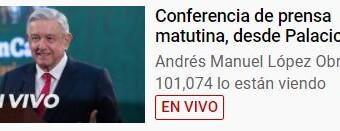 REGIÓN – México/Argentina | Conferencia de prensa de los Presidentes López Obrador y Fernández.