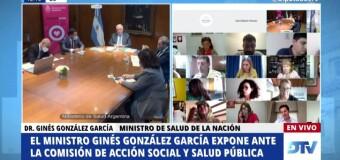 SALUD – Argentina | Interpelaron al Ministro de Salud Ginés González García.