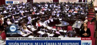 TV en VIVO | Diputados debate la sostenibilidad de la deuda externa