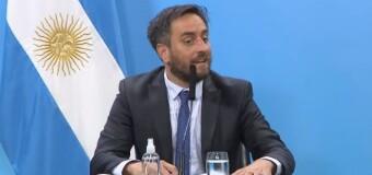 ACTUALIDAD – Argentina | En Conferencia de Prensa el Ministro Cabandié anunció la denuncia penal contra los incendiadores de la Patagonia.
