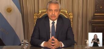 TV en DIRECTO – CORONAVIRUS – Argentina |  El Presidente Fernández hace anuncios de nuevas medidas para enfrentar la segunda ola.