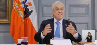 TV Diferido – MERCOSUR | El Presidente de Chile recordó que lleva 25 años y que el Mercosur es su cuarto socio.