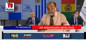 TV MUNDUS – Noticias 331 |  La Cumbre del Mercosur terminó con cruce entre Fernández y Lacalle.