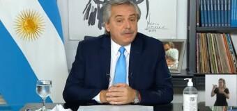 TV en VIVO |  El Presidente Alberto Fernández anuncia nuevas medidas contra la pandemia