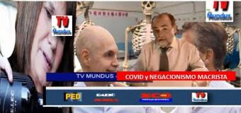 TV MUNDUS – Noticias 332 |  Segunda ola de COVID y negacionismo porteño