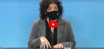 TV Diferido | La Ministra de Salud de Argentina da el informe oficial sobre el COVID