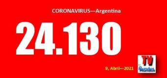 CORONAVIRUS – Argentina | Se siguen rompiendo récords en contagios de COVID en Argentina y las clases siguen presenciales.