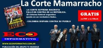 Salió en Número 101 de ECO INFORMATIVO |  La Corte Mamarracho