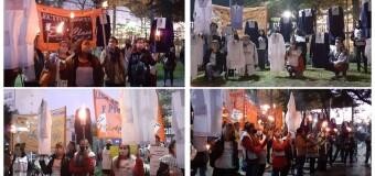 CORONAVIRUS – CABA | Marcha de las antorchas por los catorce docentes muertos por capricho de Rodríguez Larreta.