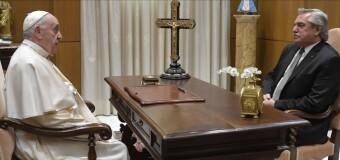 GIRA EUROPEA – Argentina | El Presidente Alberto Fernández fue recibido por el Papa Francisco.