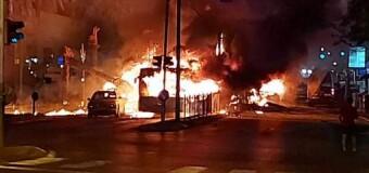 MUNDO – Palestina | Tras criminal ataque judío que derrumba edificio y mata a 40 personas, los palestinos responden con cohetes.