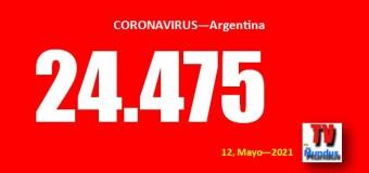 CORONAVIRUS – Argentina | Córdoba, Santa Fé y CABA cada vez peor a pesar de negar la pandemia.