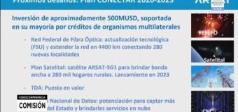 TV Diferido |  El Senado recibe en Comisión al Presidente de ARSAT por el Plan Conectar 2023