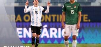TV MUNDUS – Deporvida 394 |  Argentina goleó 4 a 1 a Bolivia por la Copa América