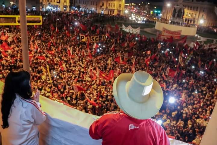 Castillo es el nuevo Presidente del Perú.