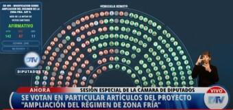 ECONOMÍA – Argentina | Regulan tarifas especiales para zonas frías contra la oposición del macrismo.