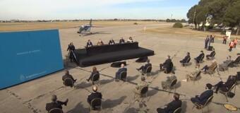 DEFENSA – Argentina | El Presidente Alberto Fernández entregó a la Fuerza Aérea el Pampa III hecho en el país.