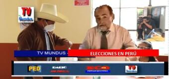 TV MUNDUS – Noticias 335 |   Castillo ganó las elecciones en Perú.