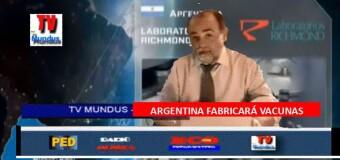 TV MUNDUS – Noticias 336 |   Argentina fabricará la Sputnik y Pfizer admite culpas.