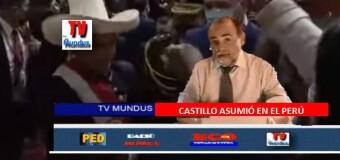 TV MUNDUS – NOTICIAS 337 | EDICIÓN ESPECIAL – Discurso del Presidente de Perú, Castillo, al asumir.