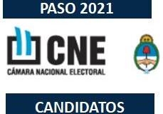 PASO 2021 – Argentina | Lista oficial de todos los candidatos/as en el país.