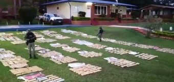 SEGURIDAD – Misiones | La Prefectura decomisó un fuerte cargamento de drogas.
